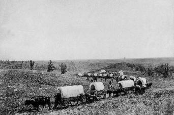 Caravanas de Colonizadores en America del Norte